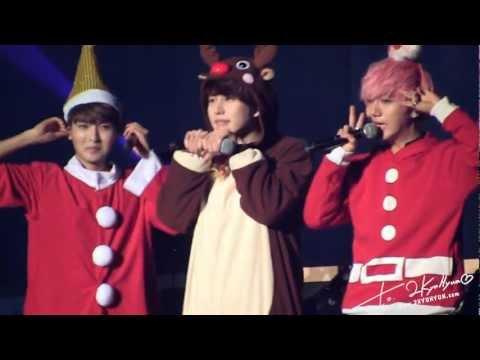 121224 KRY. Concert in Kobe - Reindeer 규 귀요밍 ^_^ - Bittersweet (2KYUHYUN)