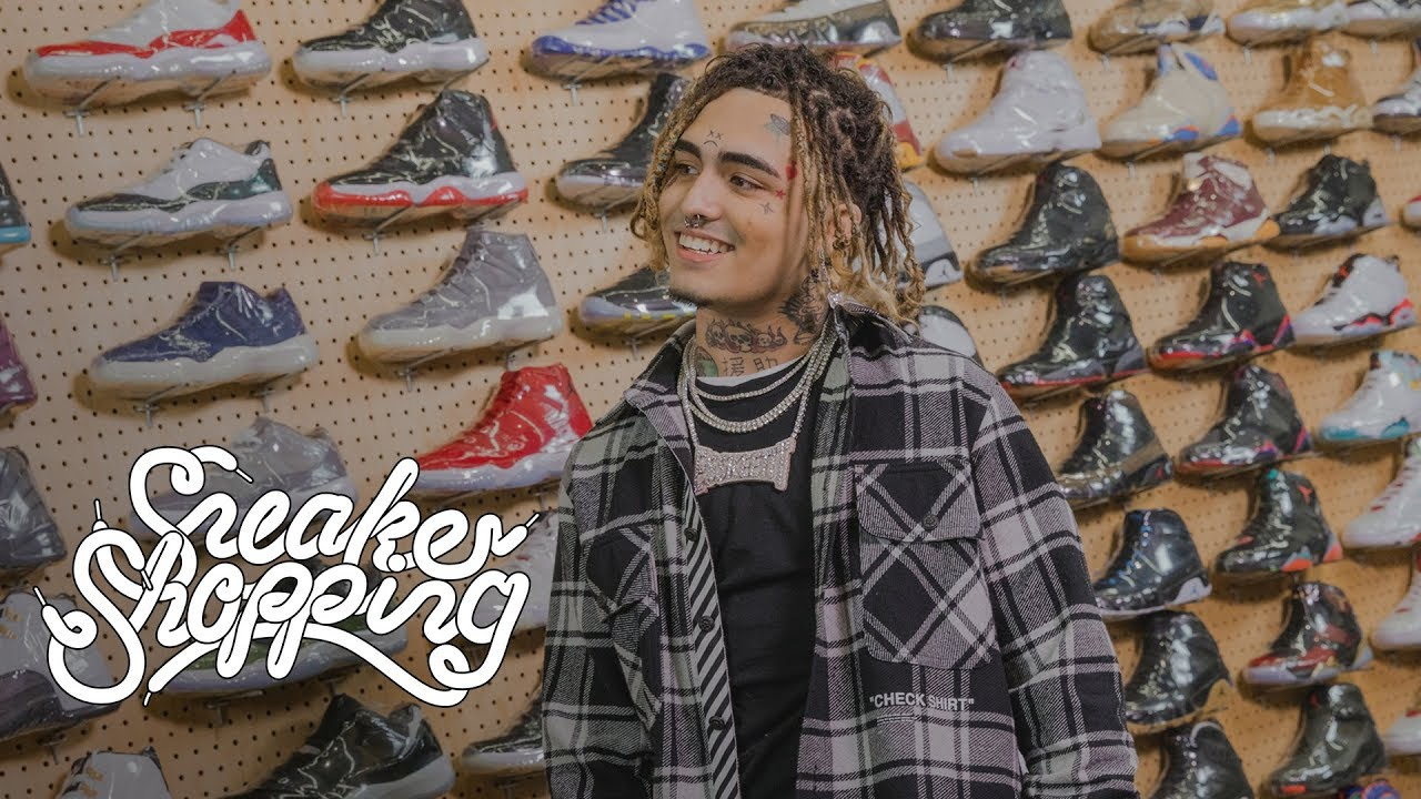 Lil Pump Goes Sneaker Shopping With Complex