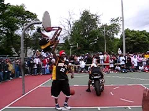 No He Didn't: Motorcycle Dunk