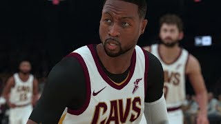 DWYANE WADE THROUGH THE YEARS - COLLEGE HOOPS 2K3 - NBA 2K18