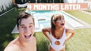 OUR POOL IS FINISHED..THE REVEAL!!!