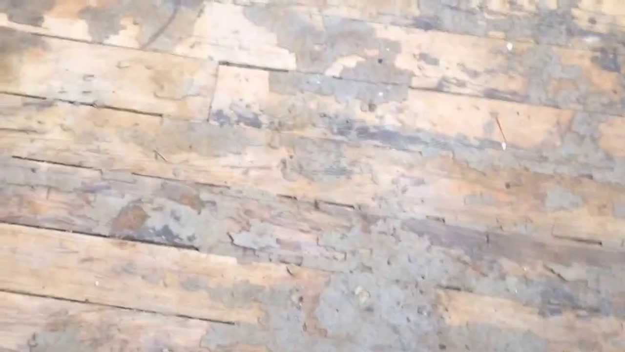 How To Refinish Soft Pine Floors Without Sanding Youtube