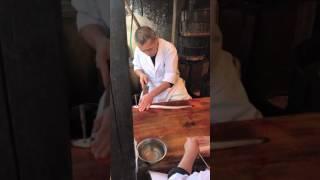 Cách người Nhật làm lươn. chỉ trong vài giây