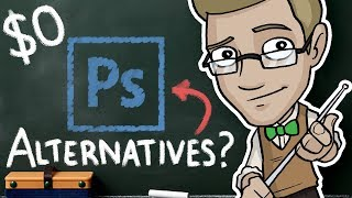 CHEAP and FREE Photoshop Alternatives - $0 Art Programs Review!