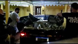 PRF e PC prendem traficante e apreendem mais de 70 quilos de maconha em São Lourenço do Sul