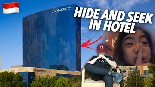 SIBLINGS HIDE AND SEEK IN A HOTEL (30 FLOORS) | Ranz and Niana