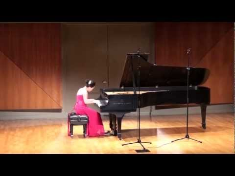 Leanna performs Sergei Rachmaninoff: Variations on a Theme of Corelli Op. 42