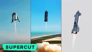 The evolution of SpaceX's Starship (with explosions!)