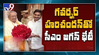 CM YS Jagan Meeting Governor Biswabhusan Grabs Attention..