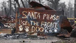 Santa Rosa fires: How to celebrate Christmas in a burnt down home