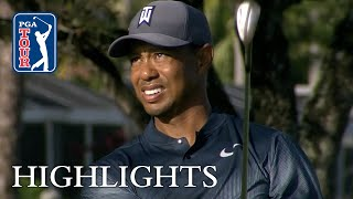Tiger Woods' extended highlights | Round 1 | Honda