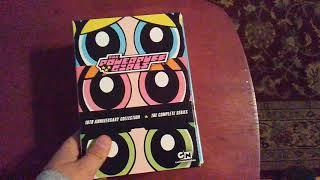 Powerpuff Girls 10th anniversary box set Unboxing