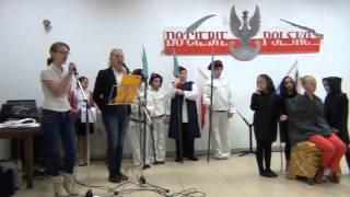 Sala widowiskowa w Łeknie, część artystyczna: - montaż słowno - muzyczny Ojczyzna,GOK w Łeknie
