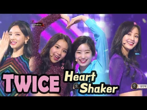 TWICE - Heart Shaker, 트와이스 - Heart Shaker @2017 MBC Music Festival