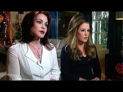 PRISCILLA and LISA MARIE Discuss ELVIS on TODAY, Elvis Week, 2012