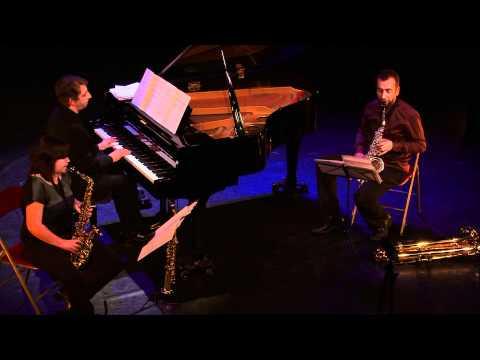 Trio Saxiana - Albeniz/Petit  Légende astérisque