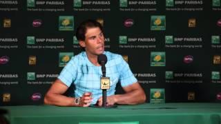 2016 Rafael Nadal QF Press Conference