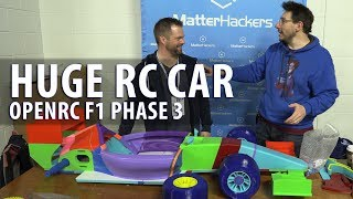 Worlds Largest OpenRC F1 Car - Phase 3 // Assembling the Parts with Daniel Noree #MRRF2018 #OPENRCF1