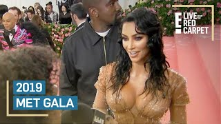 Kim Kardashian Channels Wet California Girl at Met Gala | E! Red Carpet & Award Shows