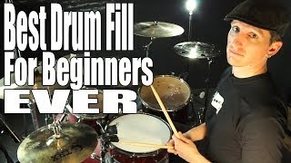 DRUM FILLS: Best Beginner Drum Fill Ever