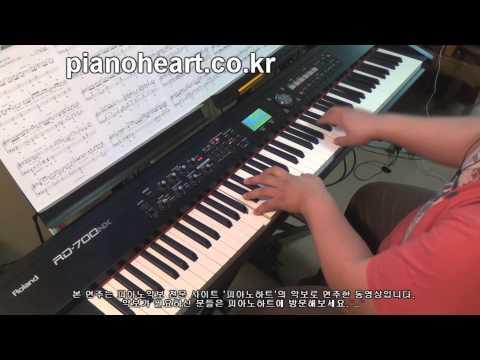겨울왕국(Frozen) ost, Idina Menzel - Let It Go piano cover,RD-700NX