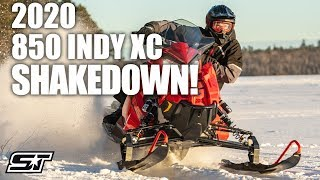 Highs and Lows of the 2020 Polaris 850 INDY XC 137