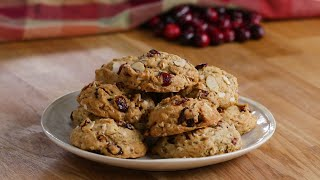 The Best Cranberry Almond Cookies To Gift To Your Friends • Holiday Cookie Countdown • Tasty