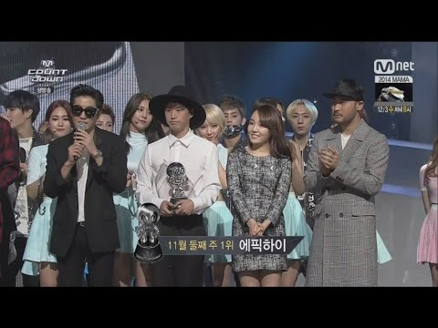 EPIK HIGH - '헤픈엔딩(HAPPEN ENDING)' (Feat.YOUNHA) 1113 M COUNTDOWN : NO.1 OF THE WEEK
