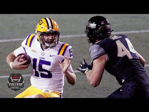 LSU Tigers vs. Vanderbilt Commodores | 2020 College Football Highlights