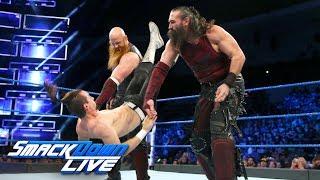 The Bludgeon Brothers vs. Adam James & Josh Carr: SmackDown LIVE, Dec. 5, 2017