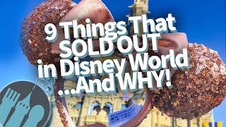 9 Things That SOLD OUT In Disney World...And WHY!