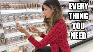 THE ULTIMATE DRUGSTORE STARTER KIT | MAKEUP FOR BEGINNERS