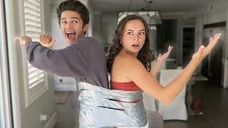 DUCT TAPED TO BRENT RIVERA FOR A DAY