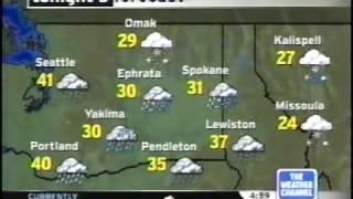 TWC IntelliSTAR- Spokane, WA- Jan. 28, 2005- 4:58PM PST