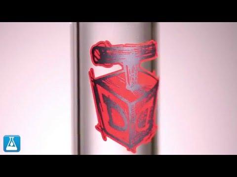 Dynomite Glass 50mm Gridded Stemline Tube