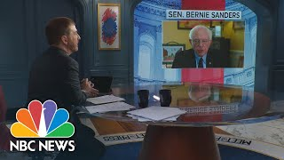Full Bernie Interview: Bipartisan Infrastructure Bill 'Mostly Good'