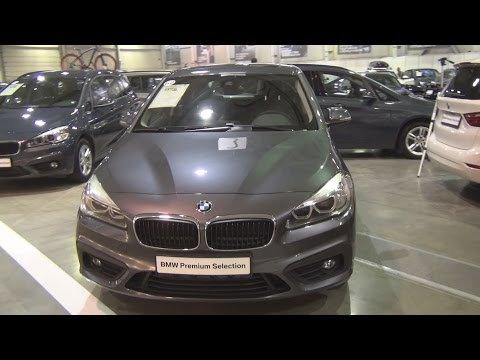 BMW 218d Active Tourer (2016) Exterior and Interior in 3D