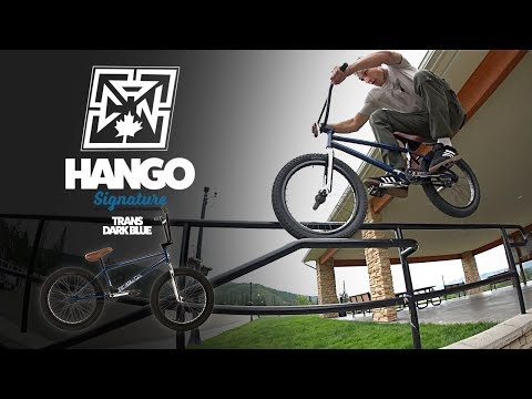 "Video FIT Bmx HANGO 20.5"" 2018 Trans Dark Blue"