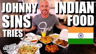 Trying Indian Food 1st Time!