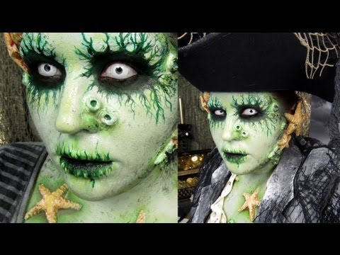 Pirate Makeup Davy Jones Youtube