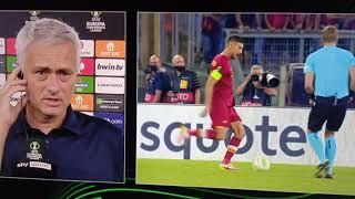 la roma vince 5-1 ma per Mourinho ha giocato male
