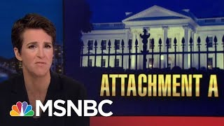 FBI Sought 'Papers Of The President' In Michael Cohen Searches | Rachel Maddow | MSNBC