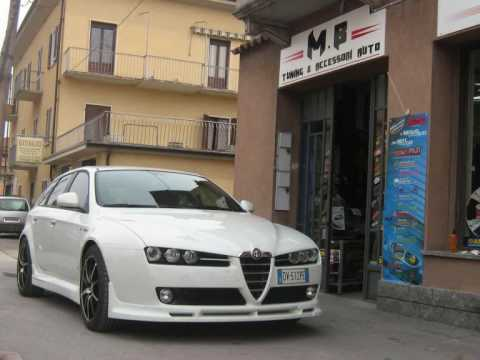 alfa romeo 159 sw by mb tuning youtube. Black Bedroom Furniture Sets. Home Design Ideas