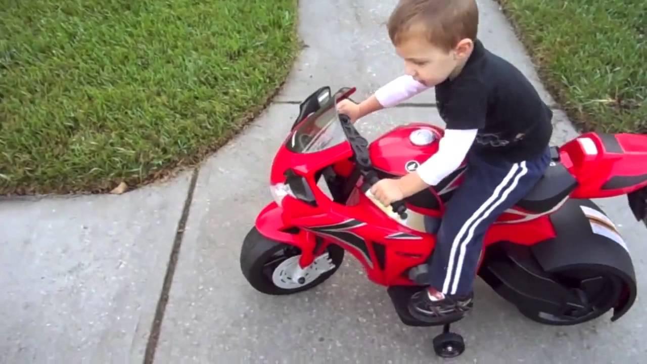 Honda Cbr Motorcycle Ride On Toys Youtube