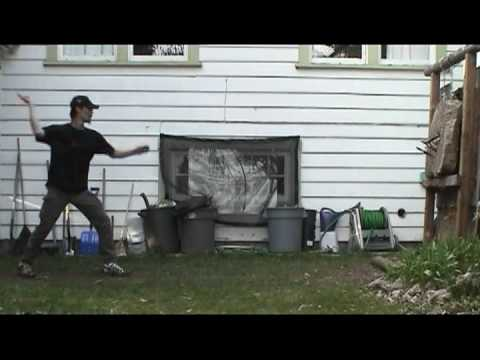 Mike Ching -  Backyard Chucking Knives