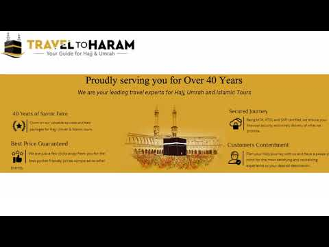 Travel to Haram _ Your Guide for Hajj and Umrah