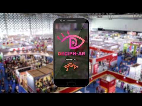 Just Funky DECIPH-AR premiere: Augmented Reality. Introducing the premiere AR experience in licensed products. Watch your favorite character or license come to life!