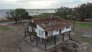 9-20-2020 Grand Chenier, La- Tropical Storm Beta, surge warnings for areas hit so hard by Laura