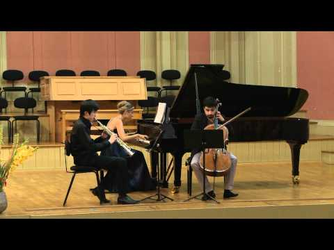 Claude Debussy - Trio in G major (1880) - 2/4 - Trio Saxpiacello