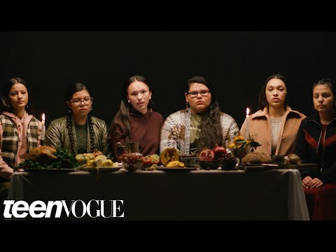 Native American Girls Describe the REAL History Behind Thanksgiving   Teen Vogue